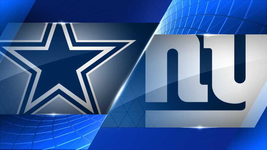 Dallas Cowboys at N.Y. Giants
