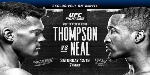 Ufc Fight Night Thompson Vs Neal Betting Odds Picks Predictions Bangthebook Com