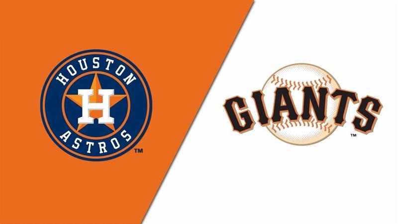 Astros vs. Giants