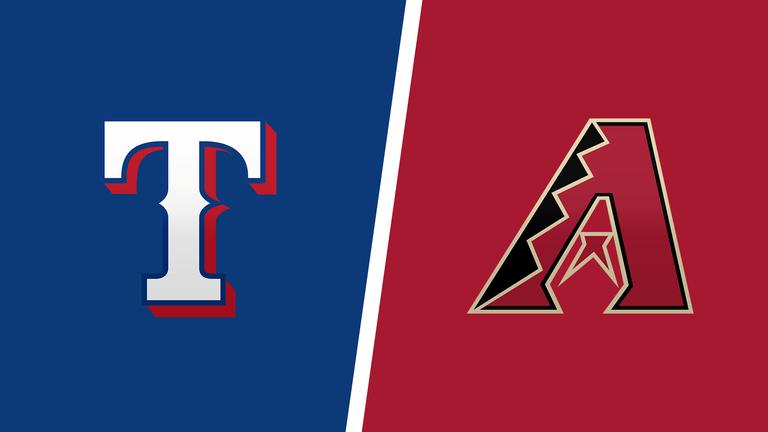 Diamondbacks vs. Rangers