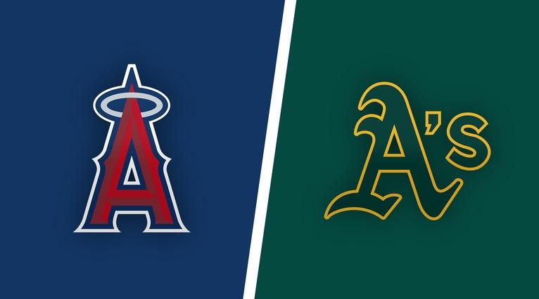 Los Angeles Angels vs. Oakland A's