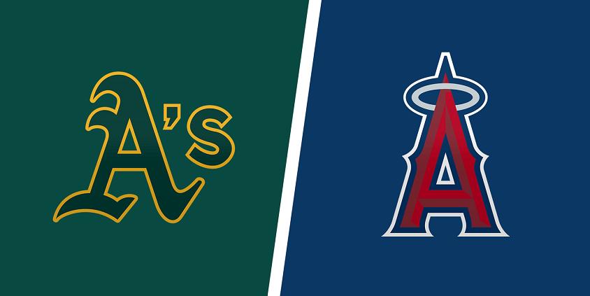 Oakland A's vs. Los Angels Angels