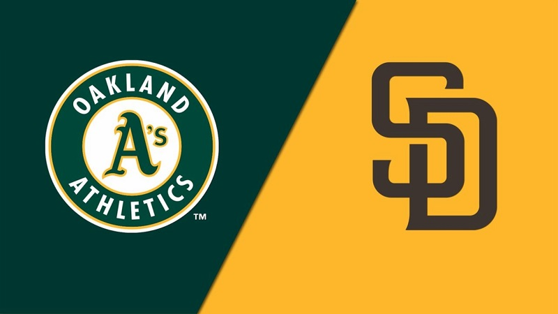 Oakland A's vs. San Diego Padres