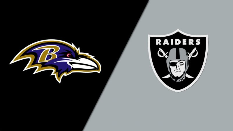 Baltimore Ravens vs. Las Vegas Raiders