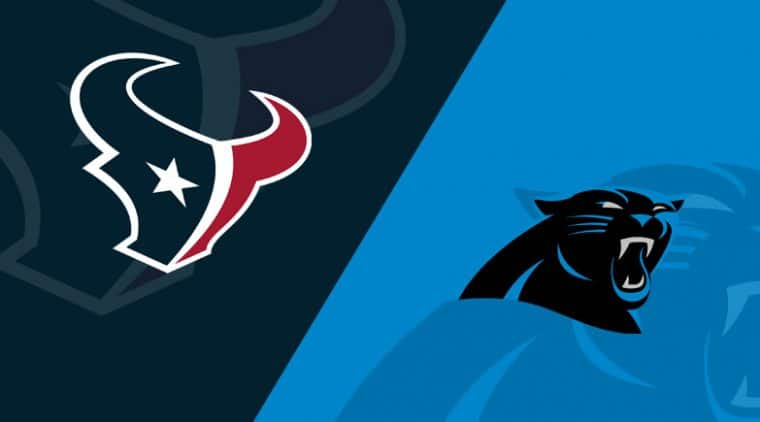 Carolina Panthers vs. Houston Texans
