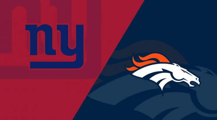 Denver Broncos vs. New York Giants