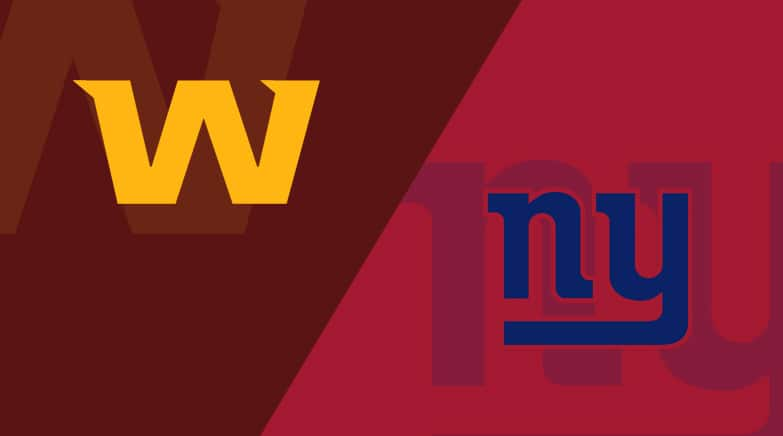 New York Giants vs. Washington Football