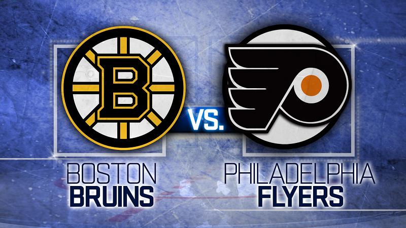 Boston Bruins vs. Philadelphia Flyers