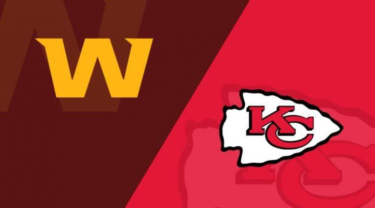 Kansas City Chiefs vs. Washington Football Team