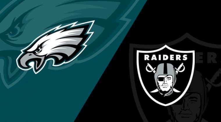 Philadelphia Eagles vs. Las Vegas Raiders